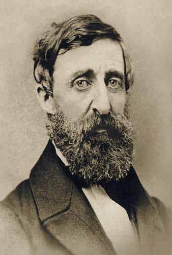 English: Henry David Thoreau, photograph taken...