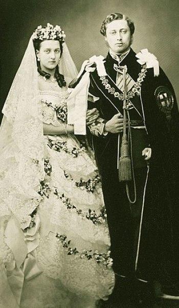 e8a4a6b3fb2 Wedding of King Edward VII of the United Kingdom and Princess ...