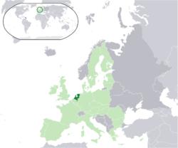 Situación de Holanda