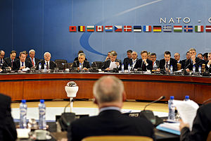 The first meeting for NATO Defense ministers a...