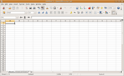 A spreadsheet is a computer application that simulates a paper, accounting worksheet.