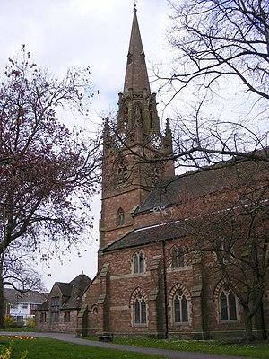 English: St Lawrence The Parish Church of Darl...