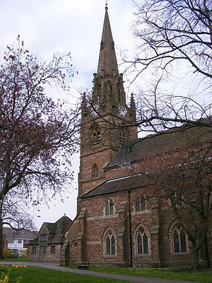 English: St Lawrence The Parish Church of Darl...