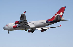 Boeing 747-400, the second largest commercial ...