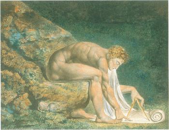 Newton. Painting.
