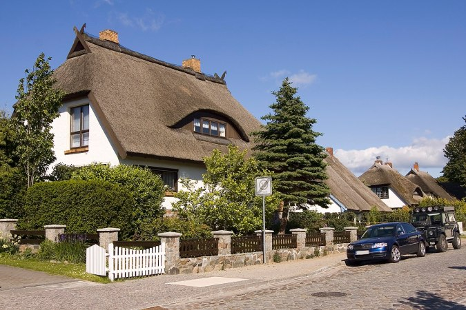 Thatched roof Germany