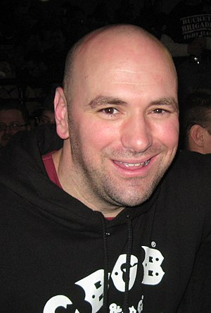 English: Dana White, president of the UFC.