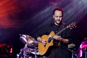English: Dave Matthews performing with the Dav...
