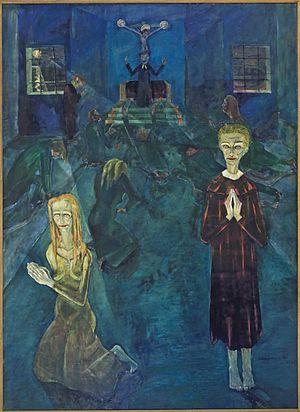 "Walter Gramatte: ""Confession"" 1920"