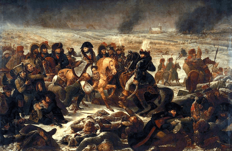 Ficheiro:Gros - Napoleon on the Battlefield of Eylau.png