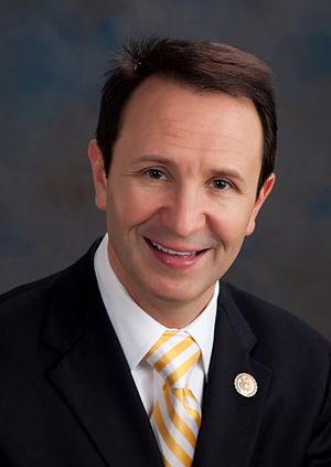 Official portrait of Congressman (R-LA).