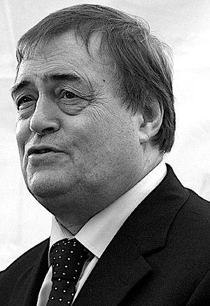 English: John Prescott, British Labour politic...