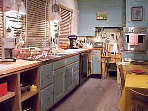 Julia Child's kitchen at the Smithsonian Natio...