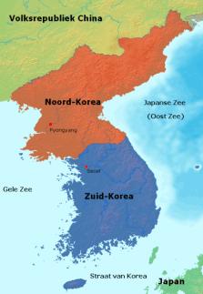 File:Kaart Korea Nederlands.PNG