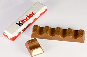 Deutsch: Kinder Schokolade von Ferrero Italian...
