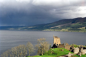 Loch Ness With Urquhart Castle in the foreground