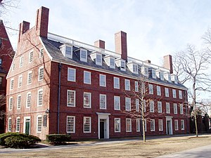 Massachusetts Hall, Harvard University, Cambri...