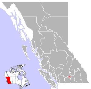 Peachland, British Columbia Location