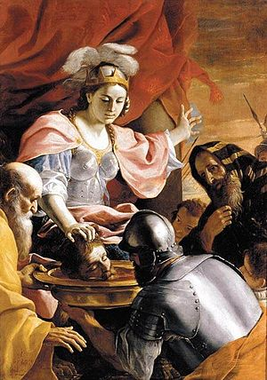 Queen Tomyris Receiving the Head of Cyrus, Kin...