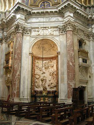 Stoning of Saint Emerentiana by Ercole Ferrata