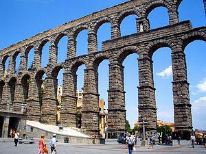 English: Acueducto de Segovia (Castilla y León...