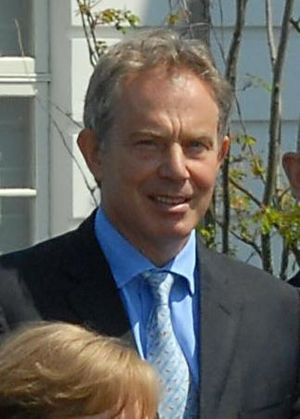Tony Blair at the 2007 G8 summit in Germany