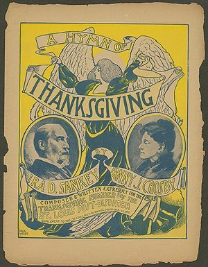 """A Hymn of Thanksgiving"", composed a..."