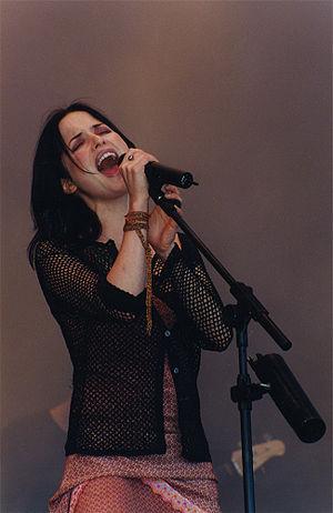 Andrea Corr at Glastonbury Festival, June 27, ...