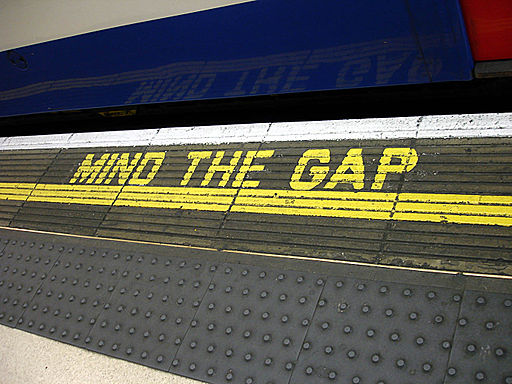 Bakerloo line - Waterloo - Mind the gap