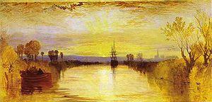 English: Chichester Canal circa 1828