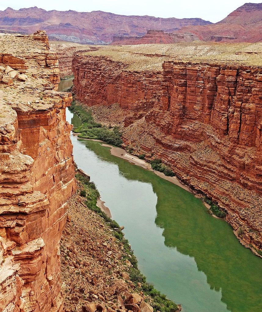 FileColorado River Through Marble Canyon Navajo Bridge