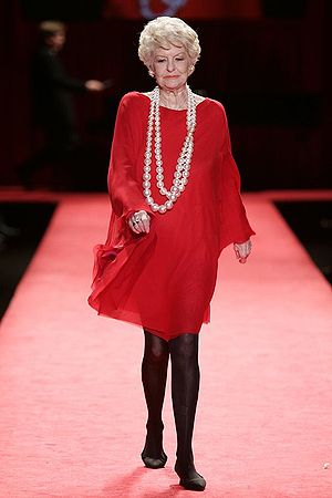 Elaine Stritch, in Red Dress Collection 2006 f...