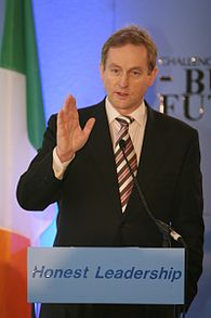 Kenny, speaking at the Young Fine Gael conference in 2007