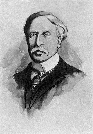 English: Irish Novelist George Augustus Moore.