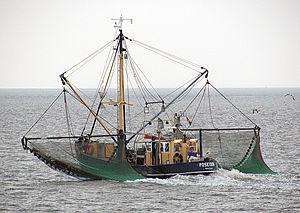 Der Kabbenkutter Poseidon aus Greetsiel beim K...