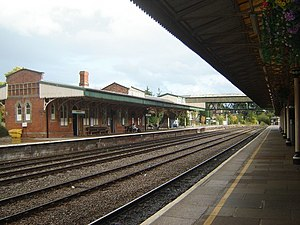 English: Hereford Railway Station