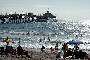 English: The pier in Imperial Beach, Southern ...