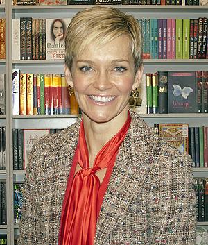 English: , launching her book Love. Wisdom. Mo...