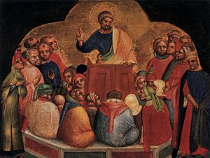 Apostle Peter Preaching
