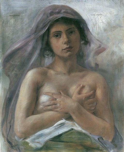 """Innocence"" by Lovis Corinth"