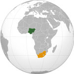 Nigeria South Africa Relations Wikipedia