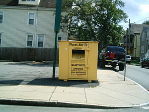 Planet Aid box