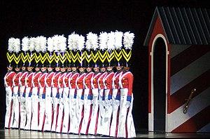 English: The Radio City Rockettes perform the ...