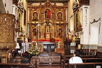 English: San Juan Capistrano Mission, CA - alt...