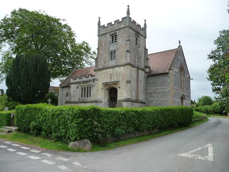 St Peter's Church, Charlton, from the north-west