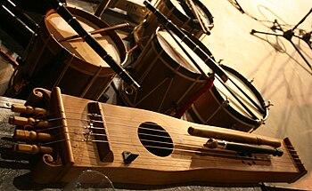 English: Txun Txun, chordophone musical instru...