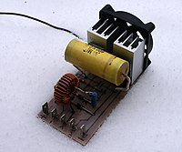 Switched mode power supply   Wikipedia Zero voltage switched mode power supplies require only small heatsinks as  little energy is lost as heat  This allows them to be small