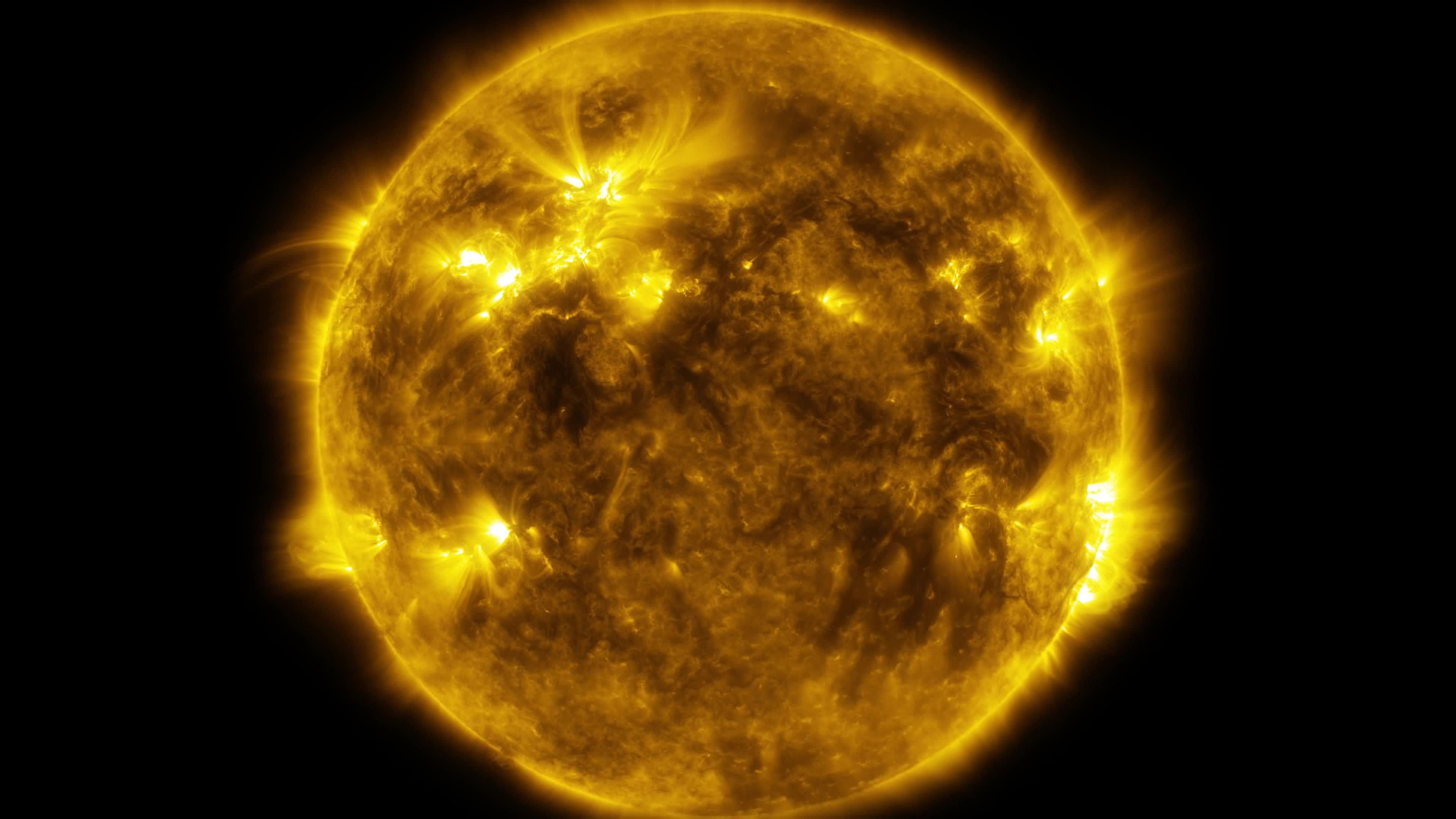File 4k Video Of The Sun S Surface Activity Ogv