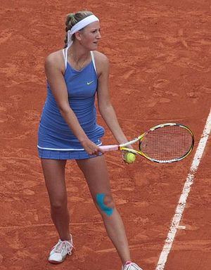 Victoria Azarenka at 2009 Roland Garros, Paris...