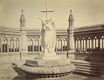 Memorial Well in remembrance of the Cawnpore m...